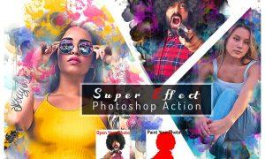 Super Effect Photoshop Action 6406333
