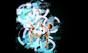 Techno Effect Photoshop Action 32383559