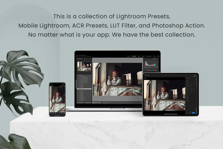 Vintage Lightroom Photoshop LUTs 6411158