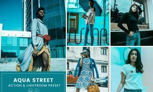 Aqua Street Action & Lightrom Presets