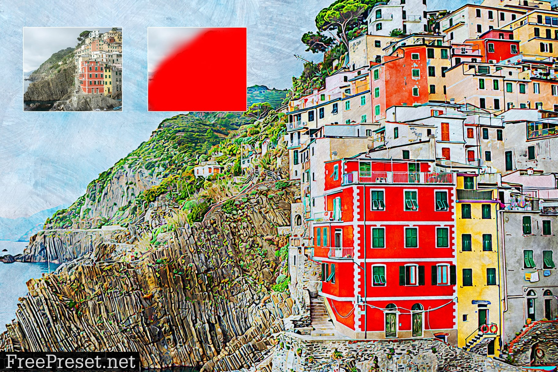 Artistic Painting Photoshop Action 4318557