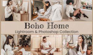 Boho Home Lightroom Photoshop LUTs 6492188