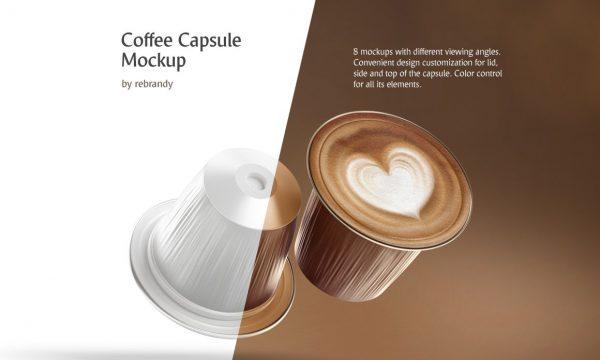 Coffee Capsule Mockup 4469791