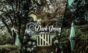 Dark Green Lightroom Presets