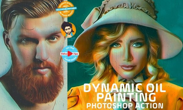 Dynamic Oil Painting Effect 6462795