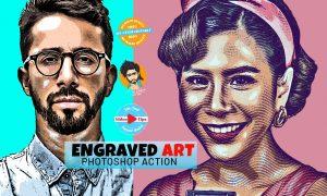 Engraved Art Effect 6407853