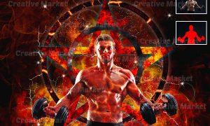 Extreme Power Photoshop Action 6499612