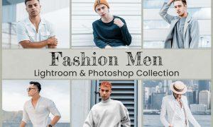 Fashion Men Lightroom Photoshop LUTs 6489979