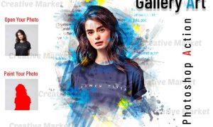 Gallery Art Photoshop Action 6514126