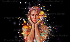Glitter Effect Photoshop Action 6493383