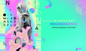 Holographic Iridescent PS Action 6357736