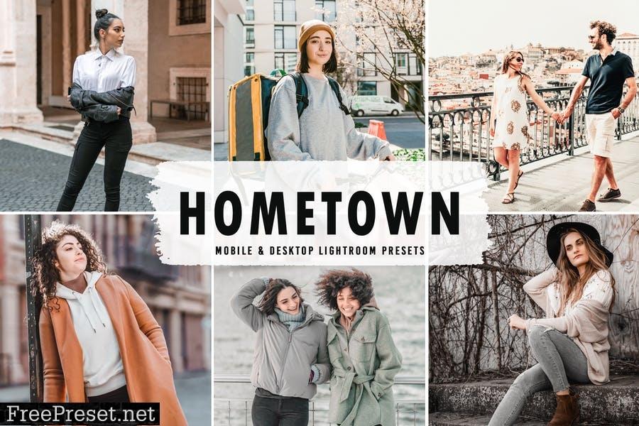 Hometown Mobile & Desktop Lightroom Presets