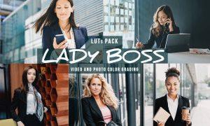 Lady Boss LUTs - Corporate/Offce Video Looks