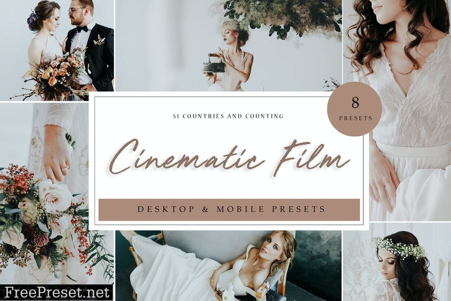 Lightroom Presets - Cinematic Film