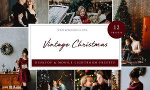 Lightroom Presets - Vintage Christmas