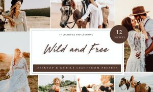 Lightroom Presets - Wild and Free