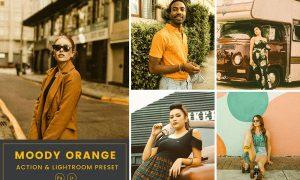 Moody Orange Action & Lightrom Presets