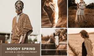 Moody Spring Action & Lightrom Presets