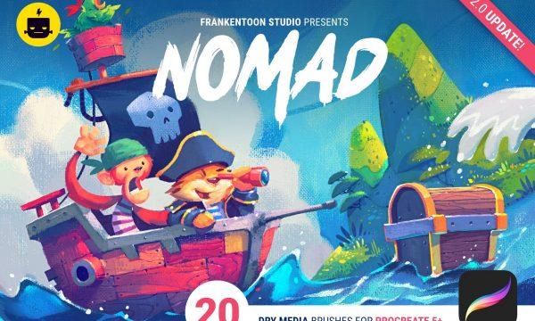 Nomad - Brush Pack for Procreate 2219423