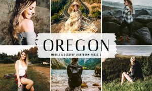 Oregon Mobile & Desktop Lightroom Presets