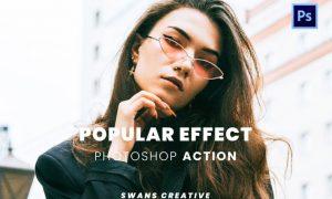 Popular Effect Photoshop Action