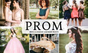 Prom Mobile & Desktop Lightroom Presets