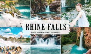 Rhine Falls Mobile & Desktop Lightroom Presets