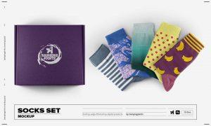 Socks Set Mockup 6178864