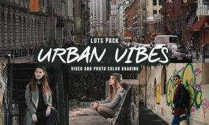 Urban Vibes LUTs for Video/Photo Color Grading