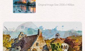 Watercolor Magic 32869854