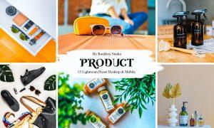 15 Product Lightroom Presets
