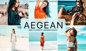 Aegean Mobile & Desktop Lightroom Presets