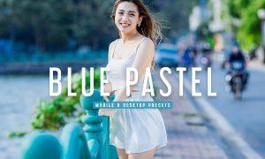 Blue Pastel Mobile & Desktop Lightroom Presets