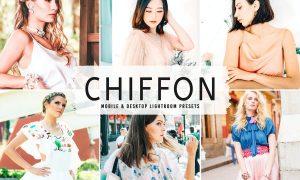 Chiffon Mobile & Desktop Lightroom Presets