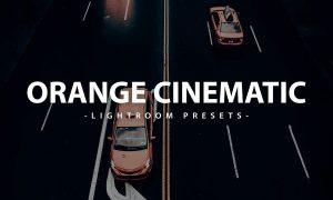Cinematic Orange Lightroom Presets Pack
