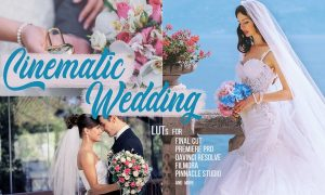 Cinematic Wedding LUTs - Color grading filters