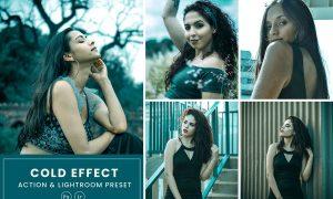 Cold Effect Action & Lightrom Presets