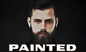 Digital Painted Photoshop Action