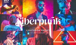 Lightroom Presets - Cyberpunk Style Effect - TW
