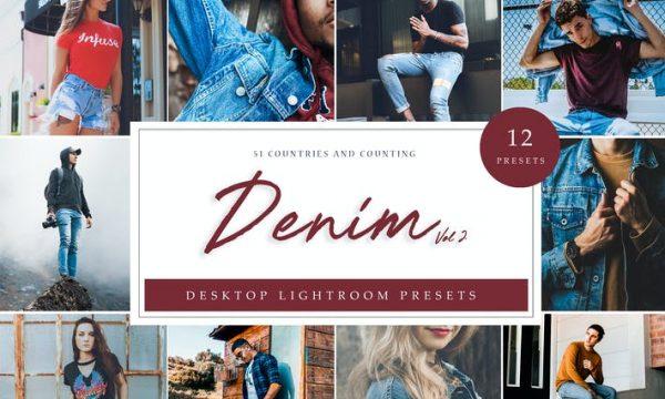 Lightroom Presets - Denim Vol. 2