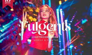 Lightroom Presets - Fulgents Cyberpunk Style - TW