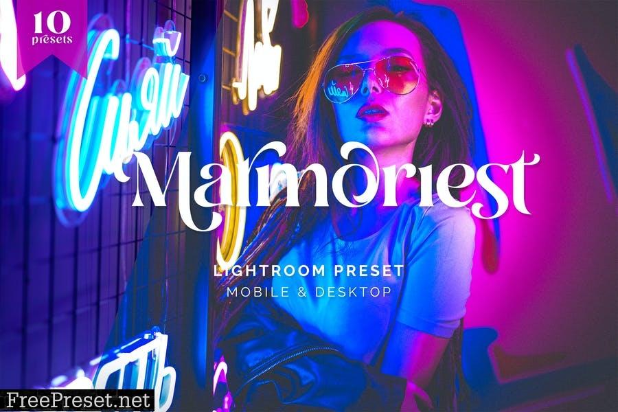 Lightroom Presets - Marmorist Cyberpunk Color - TW