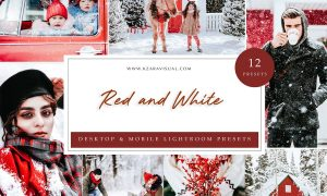 Lightroom Presets - Red and White
