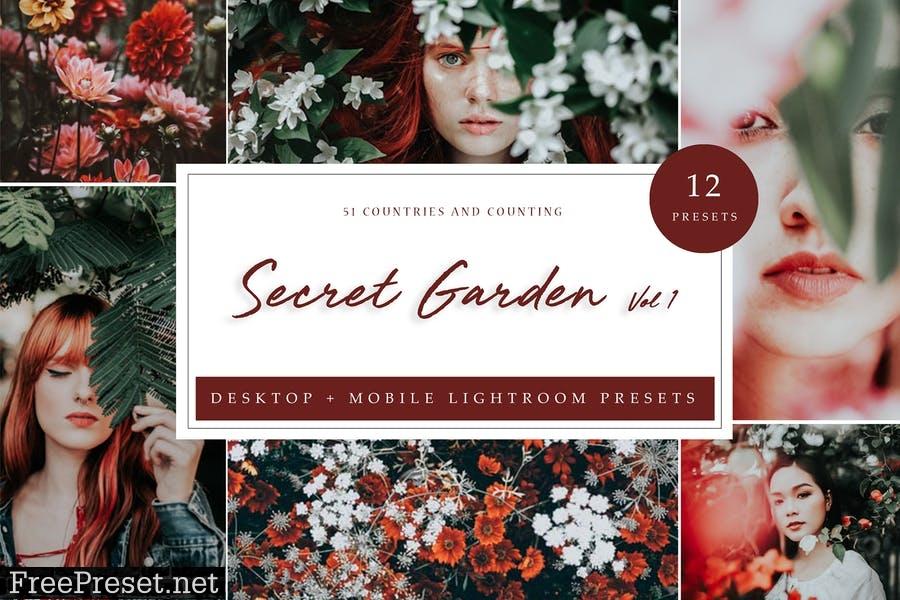Lightroom Presets - Secret Garden