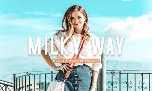 Milky Way Mobile & Desktop Lightroom Presets