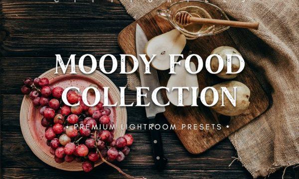 Moody Food Lifestyle Blogger Lightroom Presets