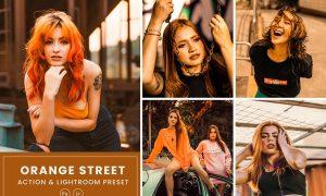 Orange Street Action & Lightrom Presets