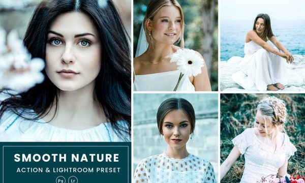 Smooth Nature Action & Lightrom Presets