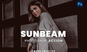 Sunbeam Photoshop Action