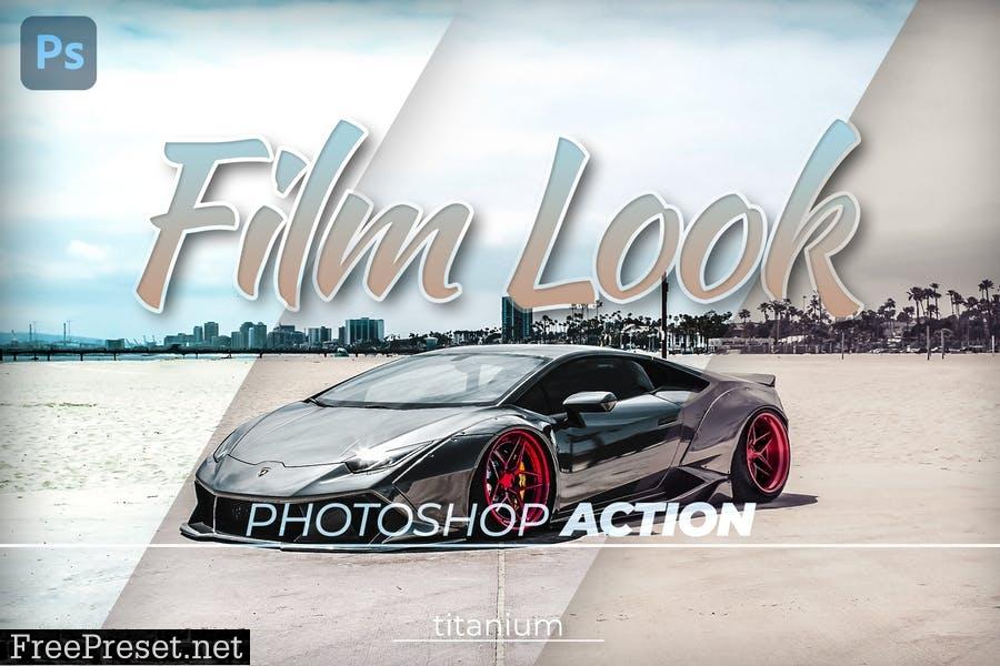 Titanium Film Look Photoshop Action